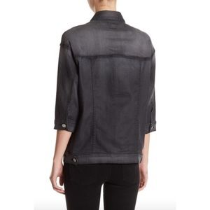 Hudson Jeans Jackets & Coats - Hudson 'Emmet' Boyfriend Denim Jacket In Charcoal